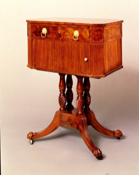 Tambour Work or Sewing Table by Duncan Phyfe