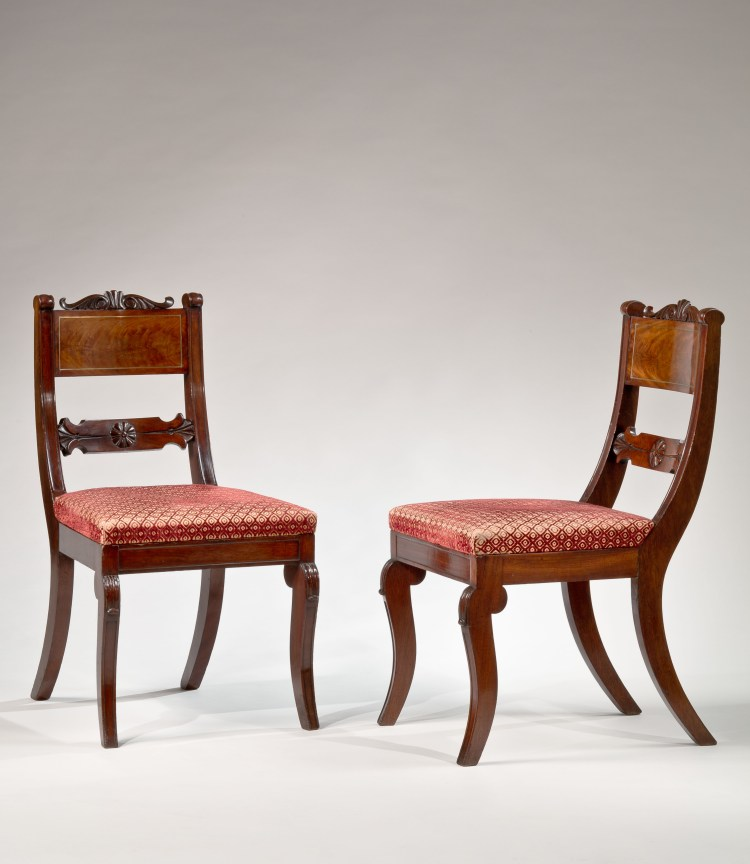 Two of Four Dining Chairs by Richard Parkin