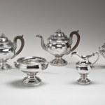 Silver Tea Service by Fletcher and Gardiner