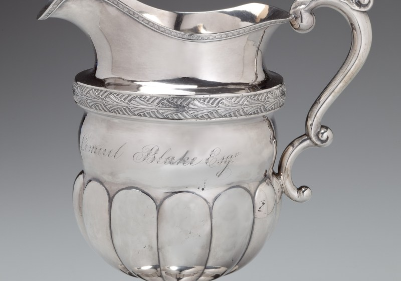 Silver Pitcher by Farnum and Ward