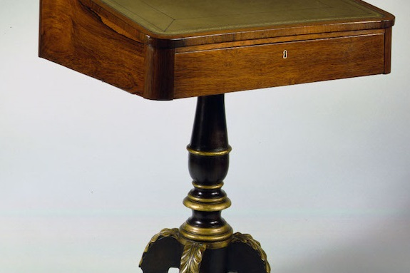 Sheraton Pedestal Desk by Phyfe