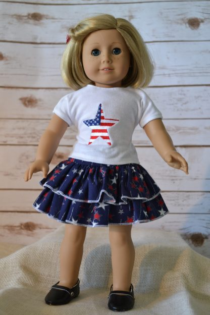 Patriotic Skirt Set