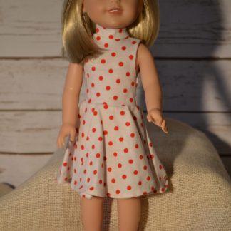 red-dot-dress-wellie-wisher