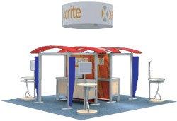 Aviator Hanging Fabric Structures - Island Circle