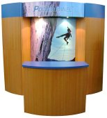 used 10ft modular used trade show display