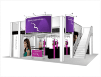 30-x-30-Tress-Expressions-Trade-Show-Truss-Displays double decker