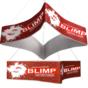 blimp hanging signs for trade shows