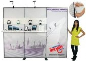 Merchandise Express tradeshow backdrops