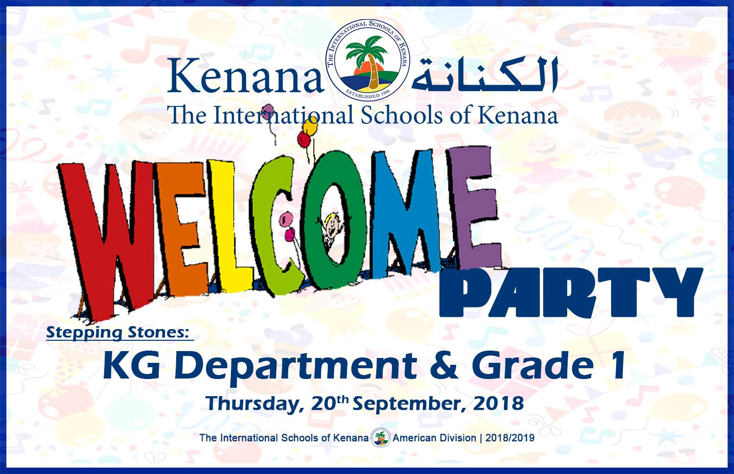 International Schools of Kenana | American Divison - Welcome Party