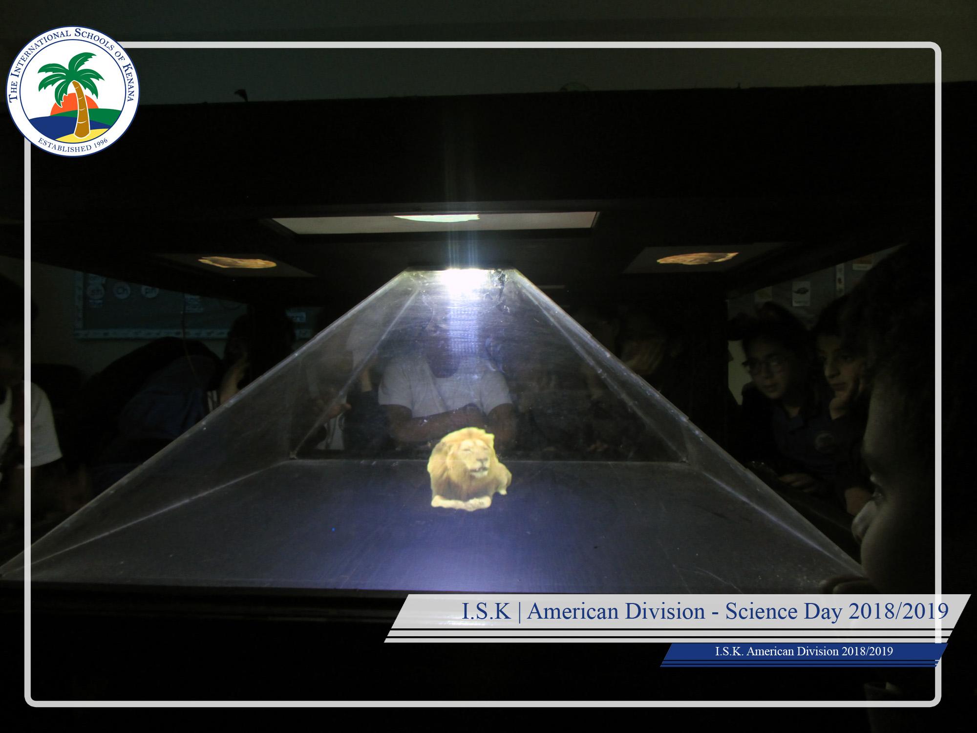I.S.K. American Division | Science Day (3D cinema,Hologram,..)