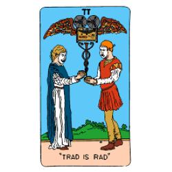 Taco Tapes Trad is Rad album artwork