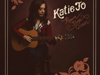"artwork for Katie Jo album ""Pawn Shop Queen"""