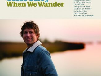 "artwork for Jesse Terry album ""When we Wander"""