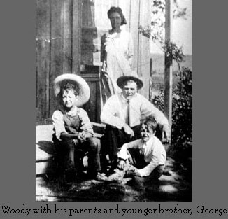 Woody parents and younger brother