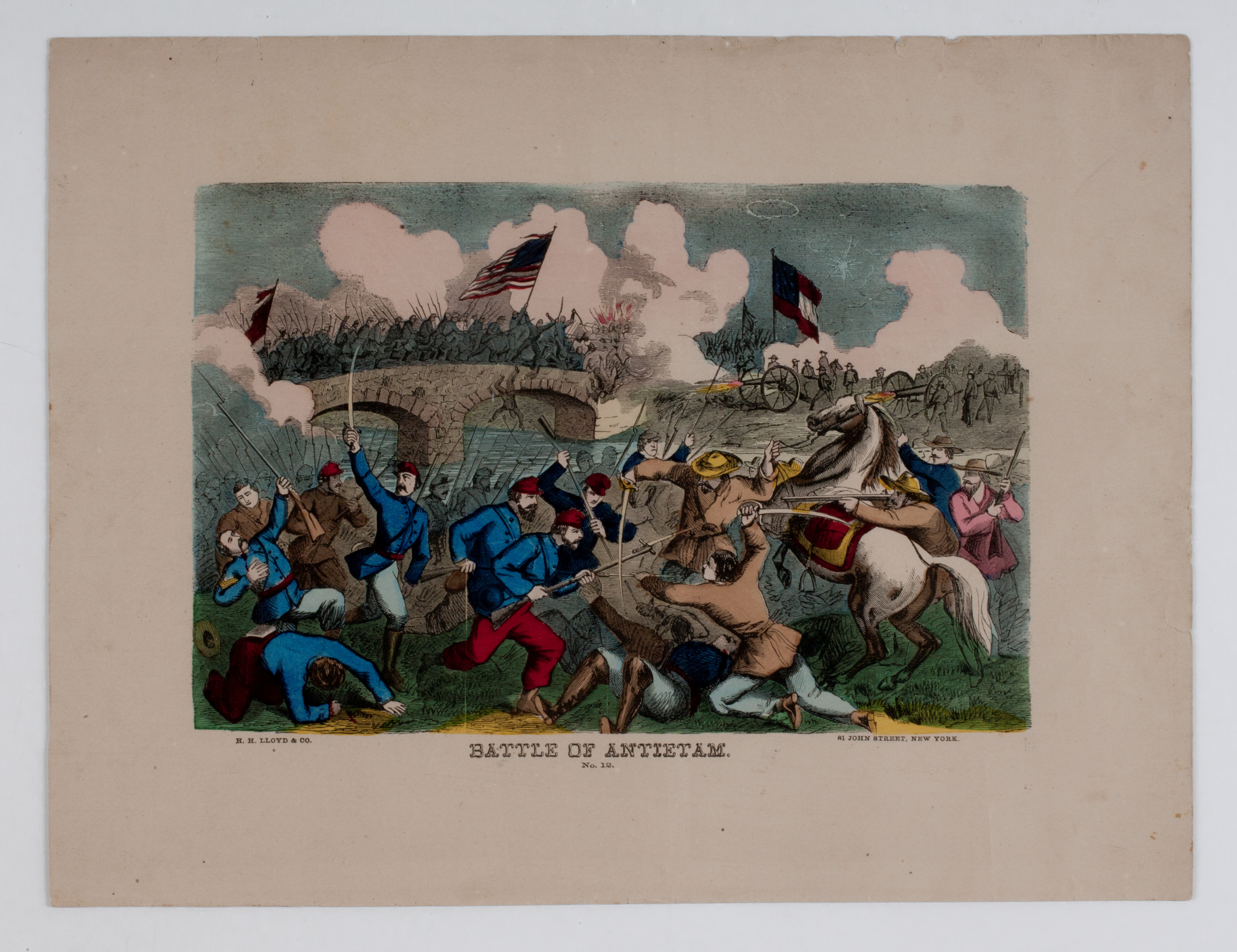 Battle Of Antietam The News Media And The Making Of