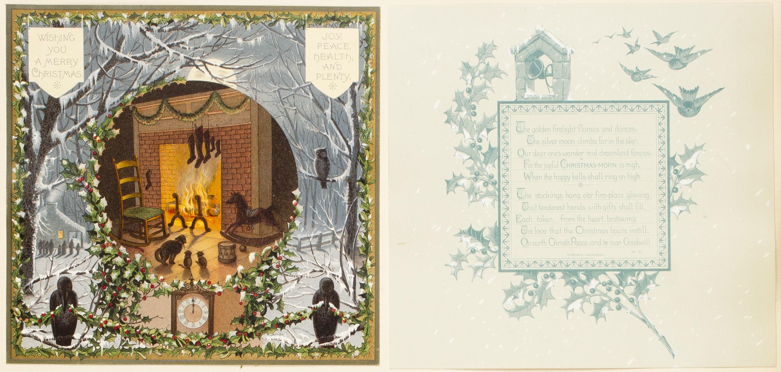 Christmas Cards Louis Prang Innovator Collaborator