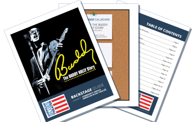 Backstage Guide for BUDDY – THE BUDDY HOLLY STORY