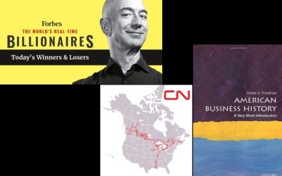 Big Rich, Big News, & A Short Book