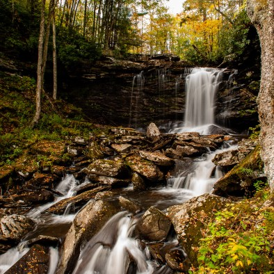 Middle Falls of Hill Creek