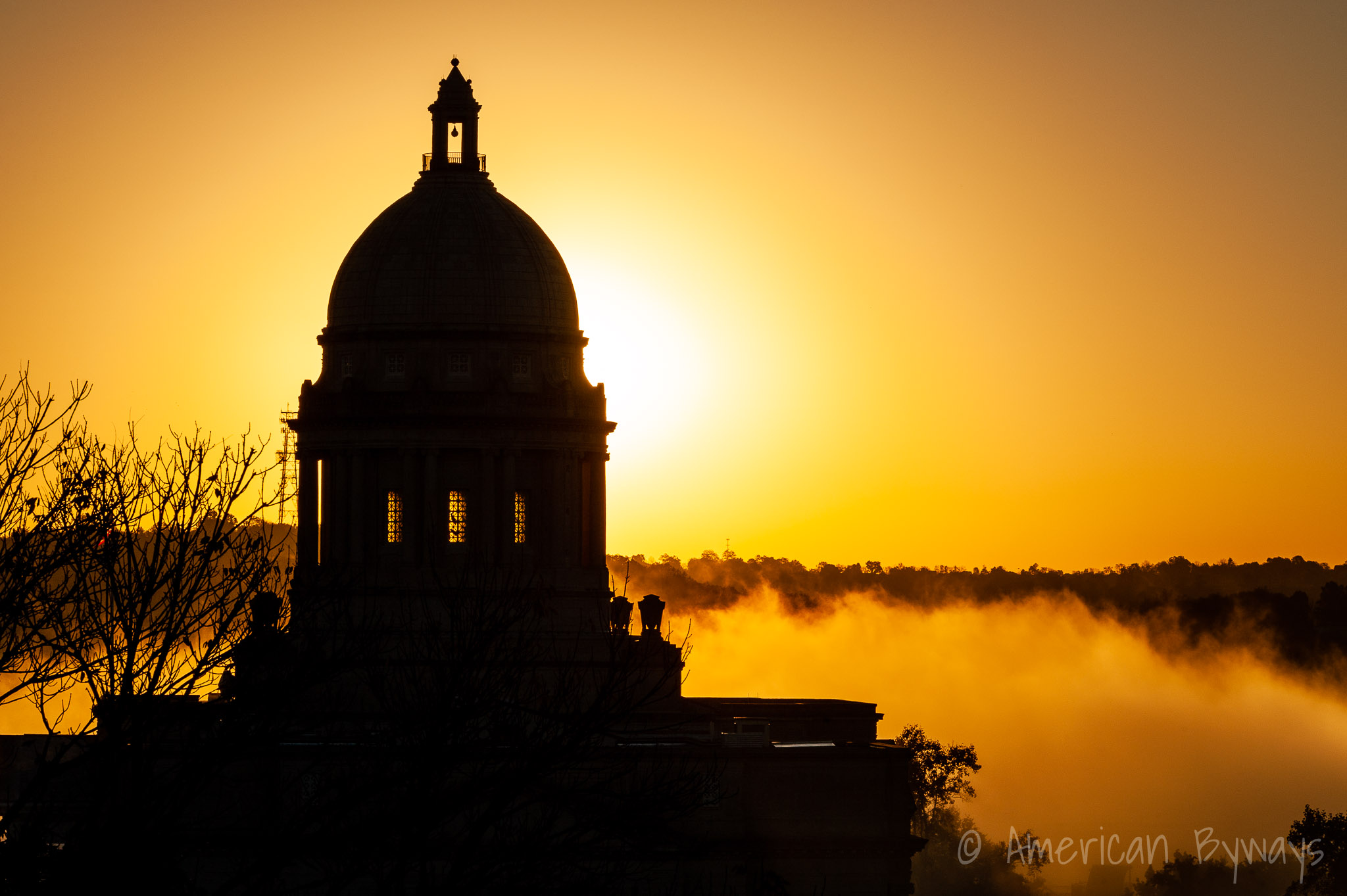 Kentucky State Capitol at sunrise