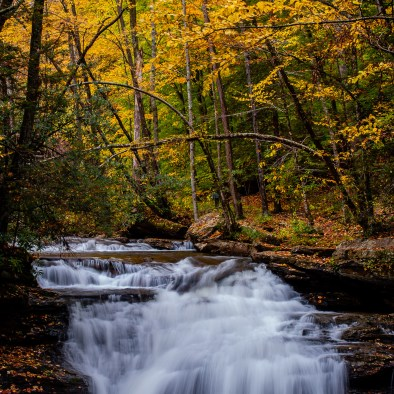 Mill Creek Falls at Kumbrabow State Forest