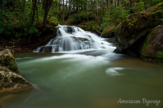 Lower Falls at Holly River State Park