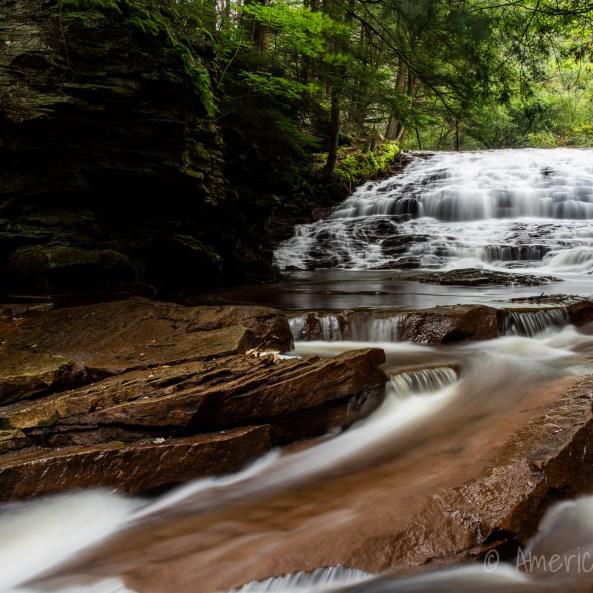 Upper Fall Brook Falls