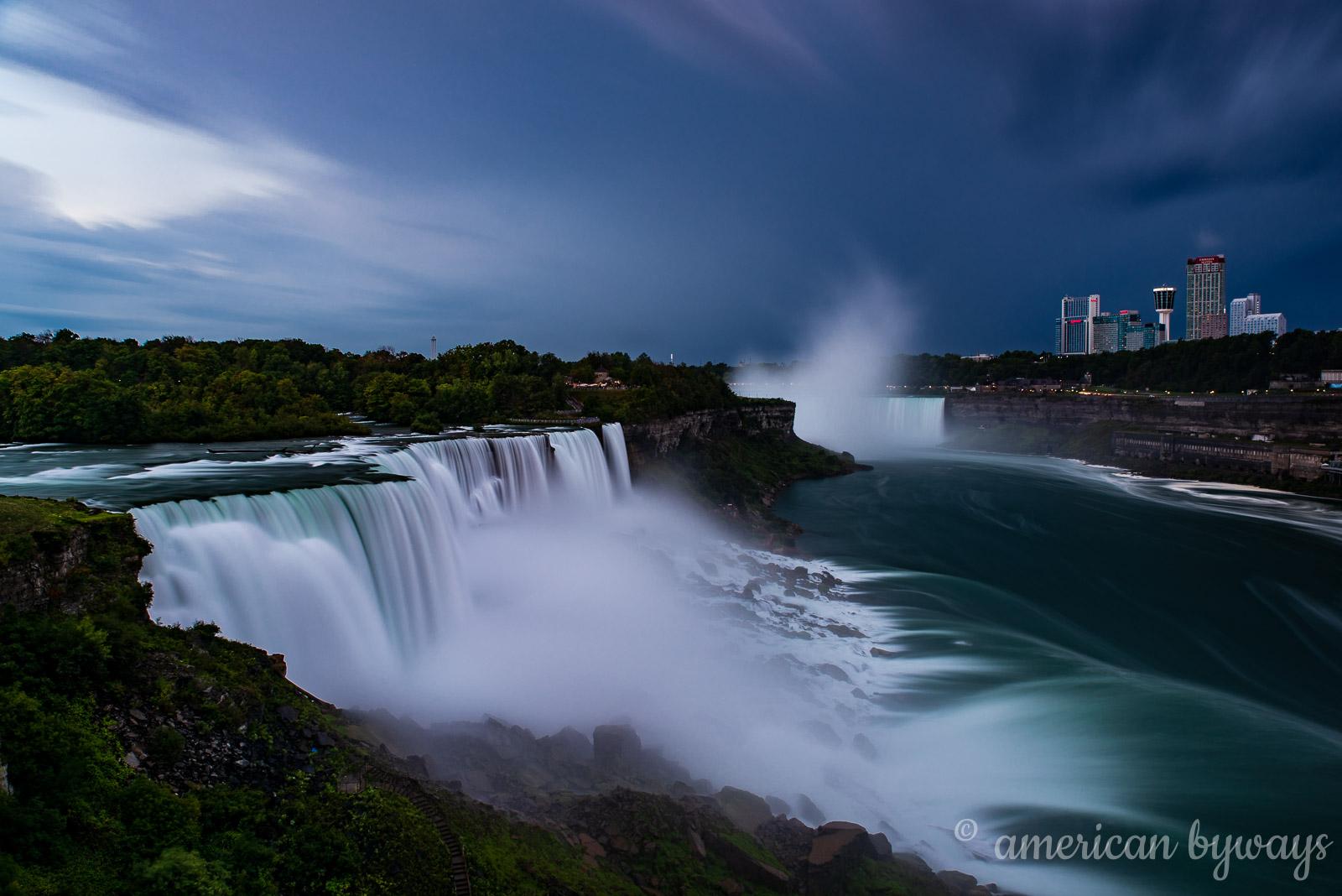 American Falls, Bridal Veil Falls & Horseshoe Falls