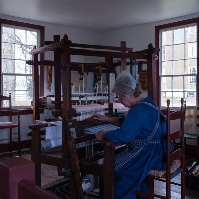 East Family Sisters' Shop Weaving Loom