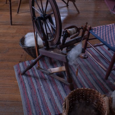 East Family Sisters' Shop Spinning Wheel