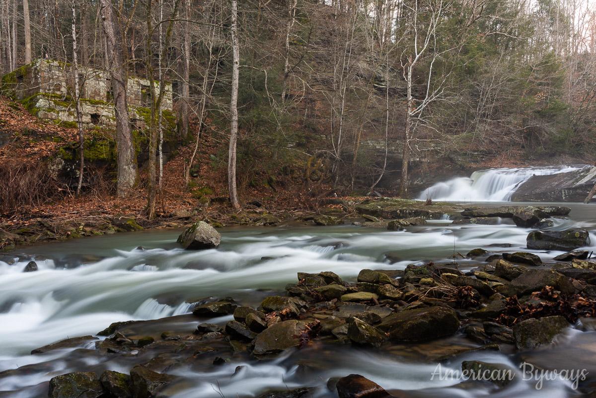 Upper Mill Creek Falls