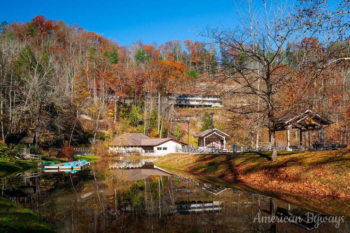 Small Lake along Mill Creek
