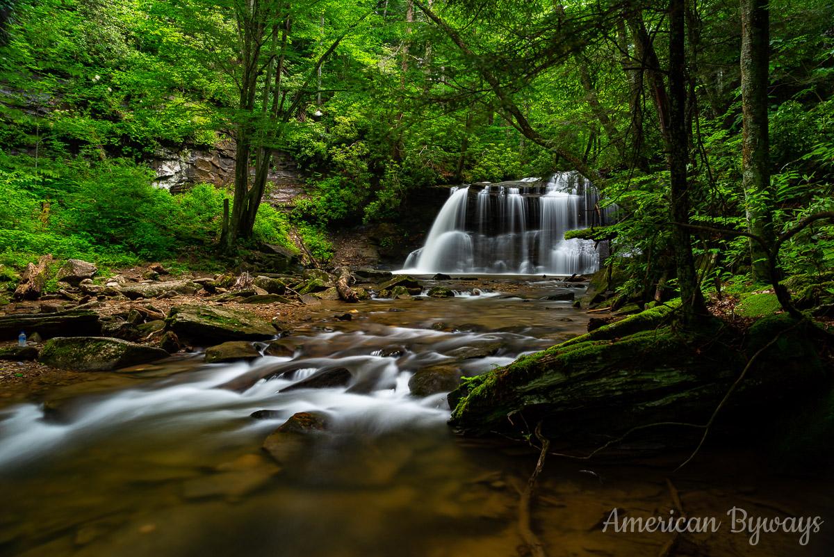 Holly River State Park Fall Run Falls / Upper Falls