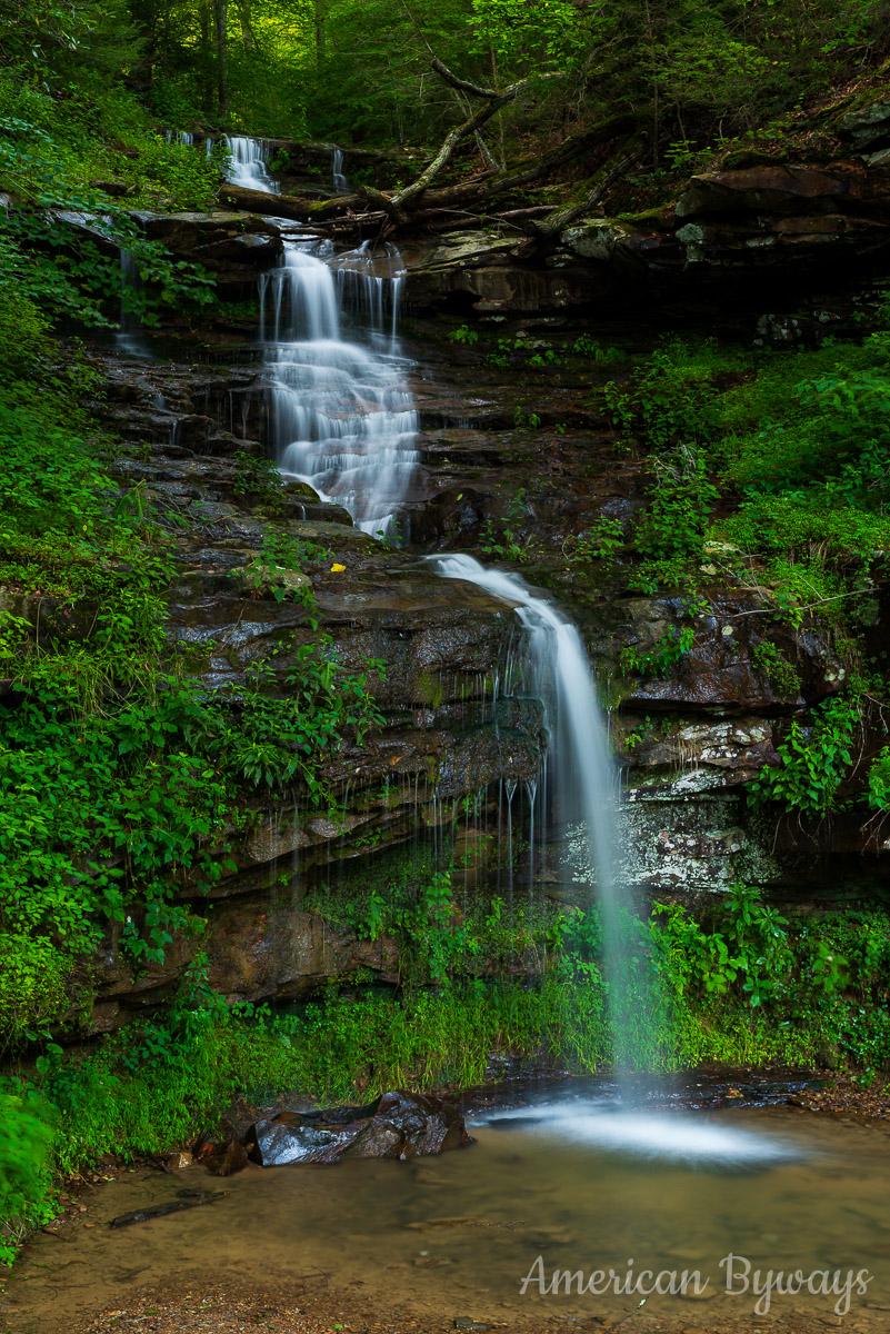 Kanawha Falls Bridge Falls