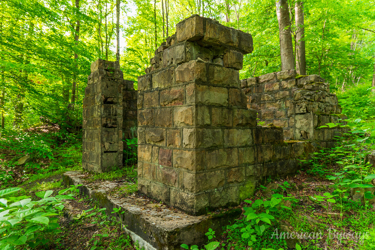 Nuttallburg Foundation Ruins