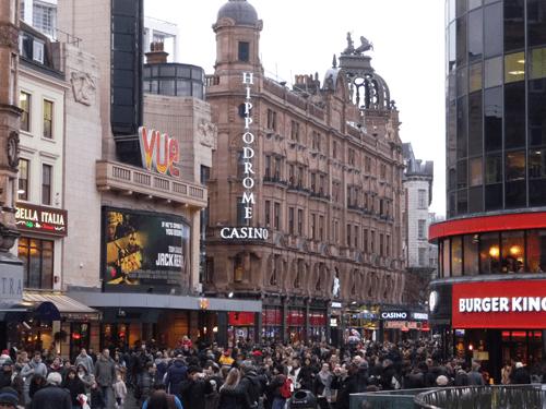 The Hippodrome Casino in London