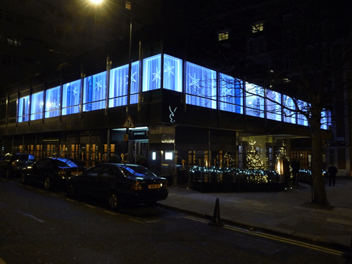 Exterior of the London Playboy Club