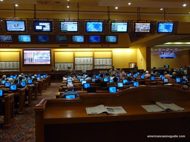 The Sportsbook at THe South Point Casino In Las Vegas, Nevada