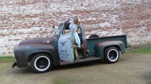 1955 ford f100 f100 Custom Cab Patina pickup 1948 1949 1951 1952 1953 1954 1956