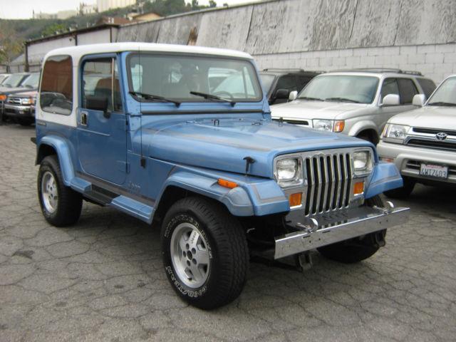 Jeep Wrangler Yj Laredo