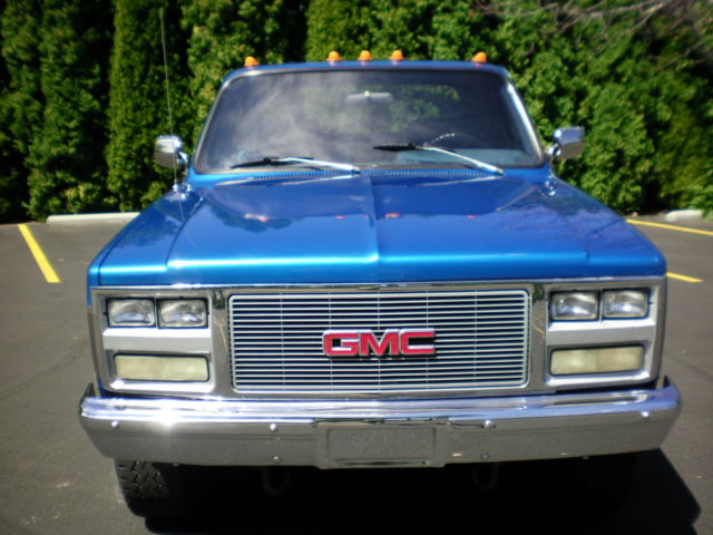 Chevy Gmc V 1 Ton Crew Cab 4x4 One Owner 78k