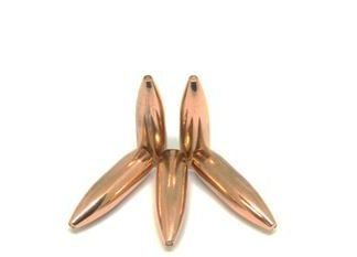 .223 Solid Copper Boat Tail (55g)