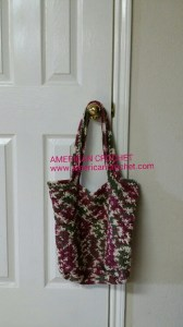 Criss Cross Reversable Bag mine