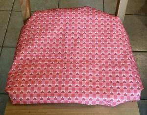 Hearts Chair Cushion