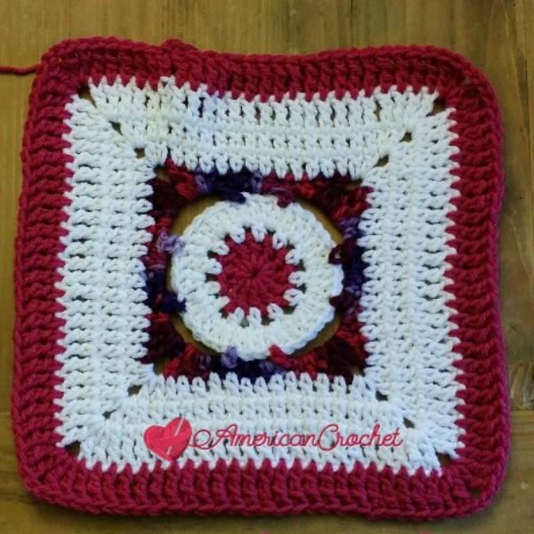 Hot Plum Jam | Free Crochet Pattern | American Crochet @americancrochet.com #freecrochetpattern