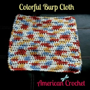 Colorful Burp Cloth