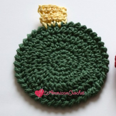 Christmas Ornament Coaster