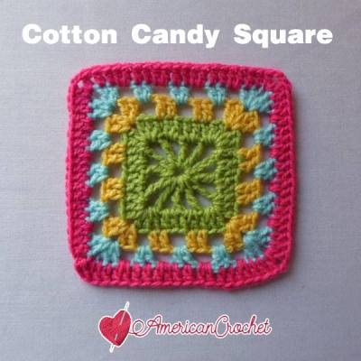 Cotton Candy Square