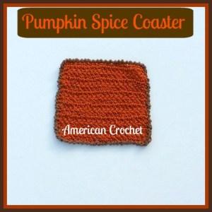 Pumpkin Spice Coaster