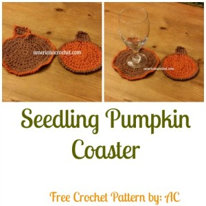 Seedling Pumpkin Coaster Collage